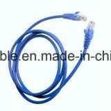 Cavo della rete di alta qualità UTP Cat5e di prezzi di fabbrica con 4 accoppiamenti Twisted (ETL)