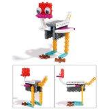 14885502-4 en 1 animal cambió bloque Kit de Educación de bricolaje creativo bloques de juguete Set 47pcs (de elefante Crab- Giraffe- avestruz)