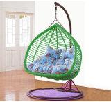 Качание нового качания двойника мебели сада напольное, мебель ротанга, корзина ротанга (D152A)