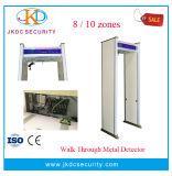 機密保護の点検(JKDM-100)のための金属探知器を通る機密保護装置の歩行