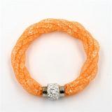Горячий браслет диаманта способа надувательства довольно неподдельный акриловый