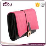Оптовые новые бумажники женщин повелительницы Муфты Кожи Длинн Бумажника способа, портмоне случая владельца карточки