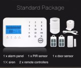 Sistema de alarme profissional do rádio PSTN+GSM com tela de toque