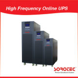 10kVA 9kw fonte de alimentação em linha de alta freqüência do UPS de 3 fases com duplo - entrada dos canos principais