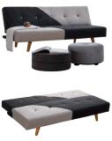 Base di menzogne del sofà della sede di amore di disegno di Morden con i piedini di legno