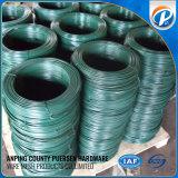 Arame galvanizado revestido de polietileno / fio de ferro revestido de PVC / PE