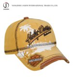 El sombrero de béisbol lavado del algodón del casquillo se divierte el casquillo de la manera del sombrero del golf del casquillo