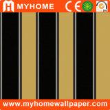 Papel pintado simple del diseño de la raya para la decoración de la casa