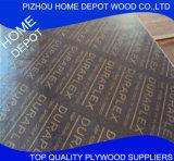 A madeira compensada/película da construção da boa qualidade 18mm enfrentou a madeira compensada com do competidor
