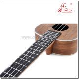 Ukulele Fingerboard Rosewood переклейки Китая оптовых продаж Mahogany (AU50L)