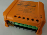 街灯システム12V 24V電池のためのオレンジ青MPPT 15AMPの太陽コントローラの充電器
