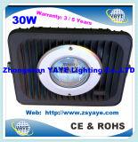 Yaye 18 공장 가격 고품질 방수 50W 옥수수 속 LED 플러드 빛/50W 옥수수 속 LED 갱도 빛 (유효한 와트: 10W-150W)