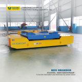 Carro de transferência pesado da carga com a tabela de elevador hidráulico