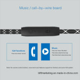 Auriculares estéreos profesionales del en-Oído 3.5m m Earbuds del metal del golf M5 para Smartphones