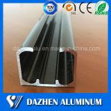 미닫이 레일 가이드 레일 양극 처리하는을%s 가진 알루미늄 알루미늄 밀어남 단면도