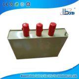 Côté de condensateur avec le facteur réactif de compensation électrique/le condensateur pouvoir de shunt