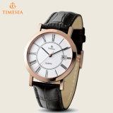ステンレス鋼の水晶腕時計、本物バンド72439
