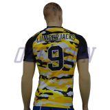Crear los uniformes del fútbol americano para requisitos particulares, uniformes del balompié de Camo, uniformes del balompié de Camo del ejército