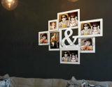 Пластичная Multi рамка фотоего коллажа украшения СИД Openning домашняя светлая