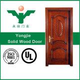 Modèle de découpage en bois de porte principale avec le prix usine