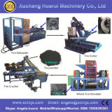 販売またはタイヤの寸断機械のための不用なタイヤのシュレッダー/タイヤのリサイクルプラント/使用されたタイヤのシュレッダー機械