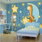 Murale su ordinazione della parete della decorazione della carta da parati della foto per la stanza del bambino dei capretti