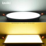 Luz del panel ahuecada del ángulo de haz de 180 grados LED