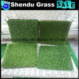 緑の庭の人工的な草の泥炭25mm 120stitch
