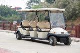 Горячее сбывание автомобиль гольфа дешево 8 пассажиров электрический