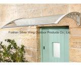 Plastikhalter-Regenschutz-Raum-Kabinendach für Tür (YY-J)