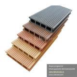 Pavimento Grooved superiore di Decking di WPC con il vantaggio di Anti-UV, di duraturo, nessuna pavimentazione di sbiadisc e fendentesi di WPC