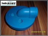 Kundenspezifischer weißer Gummi/Plastic/POM/PE CNC-Präzisionsteileshenzhen-Lieferant