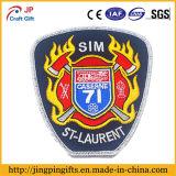 Kundenspezifisches Stickerei-Abzeichen des heißen Verkaufs-2016, Qualitäts-Gewebe-Änderung am Objektprogramm