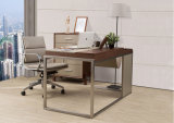 Neue Art-moderner Leder MDF-Büro-Schreibtisch-Büro-Tisch (WE04)