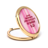 Specchio Pocket dorato rotondo all'ingrosso su ordinazione Cm-1233 dell'OEM