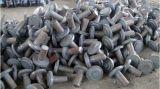鍛造材は合金および炭素鋼の原料を分ける