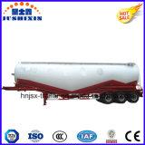 3 essieux volant la remorque matérielle de cendres/de camion-citerne aspirateur de poudre semi