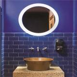 ホテルLEDのスマートな機能Foglessの電気照らされた浴室ミラー