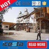 Máquina de gelo refrigerando concreta do floco de 30 horas toneladas/Day/24