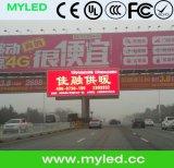 Het vaste Veranderlijke LEIDENE van de Verkeersteken van de Centra van het Bericht van de Maximum snelheid Elektronische Scherm van de Vertoning, P10 LEIDENE Vertoning Openlucht