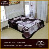 Одеяло норки качества 100% Raschel корейского типа полиэфира супер мягкого