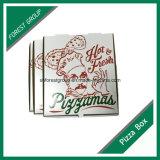 Оптовая продажа бумажной коробки Corrugated пиццы пищевой промышленности упаковывая