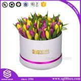 ローズの防水円形の管の花のペーパー包装のギフト用の箱