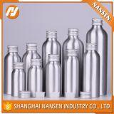 Frasco de alumínio com o frasco do pó de metal
