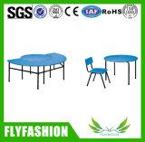 Doppelte Schule kundenspezifischer Klassenzimmer-Kind-Schreibtisch und Stuhl