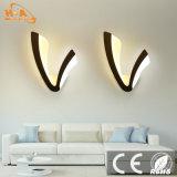 Luz caliente de la arandela de la pared de las ventas 10W LED del estilo popular del diseño