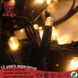 Indicatori luminosi di gomma Anti-UV della stringa della catena LED del collegare di lunghezza su ordinazione di alta qualità per l'UL di RoHS SAA del Ce di progetto