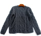 Custom Classic New Design Style Hand Knit Sweater Cardigan Pullover
