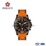 Relógio de Silicone Estilo Empresarial para Homens Relógio OEM
