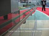 Balustrades en verre d'acier inoxydable de balustrade d'escalier d'Inox pour des opérations extérieures